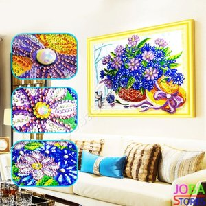 Diamond Painting *Special* Bloemen 010 40x50cm - incl. frame