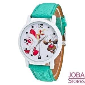 OP=OP Kerst Horloge 02 Groen