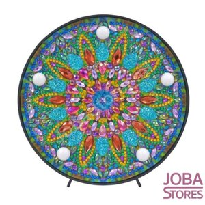 OP=OP Diamond Painting Lamp Mandala 03