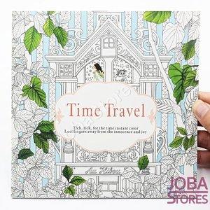 """Kleurboek voor volwassenen """"Time Travel"""" (24 pagina's)"""