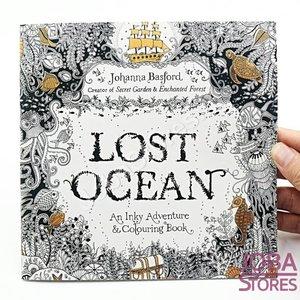 """Kleurboek voor volwassenen """"Lost Ocean"""" (24 pagina's)"""