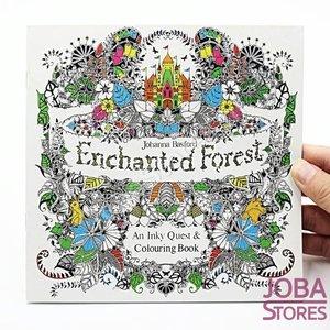 """Kleurboek voor volwassenen """"Enchanted Forest"""" (24 pagina's)"""