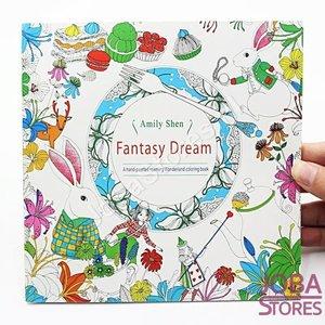 """Kleurboek voor volwassenen """"Fantasy Dream"""" (24 pagina's)"""