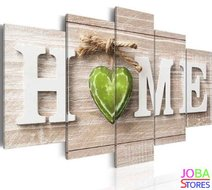 "Diamond Painting ""JobaStores®"" Home Groen 100x50 (FULL)"